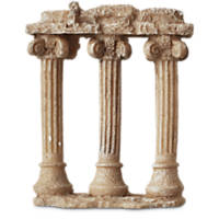 Imagitarium 3 Greek Columns 2.5' Ornament