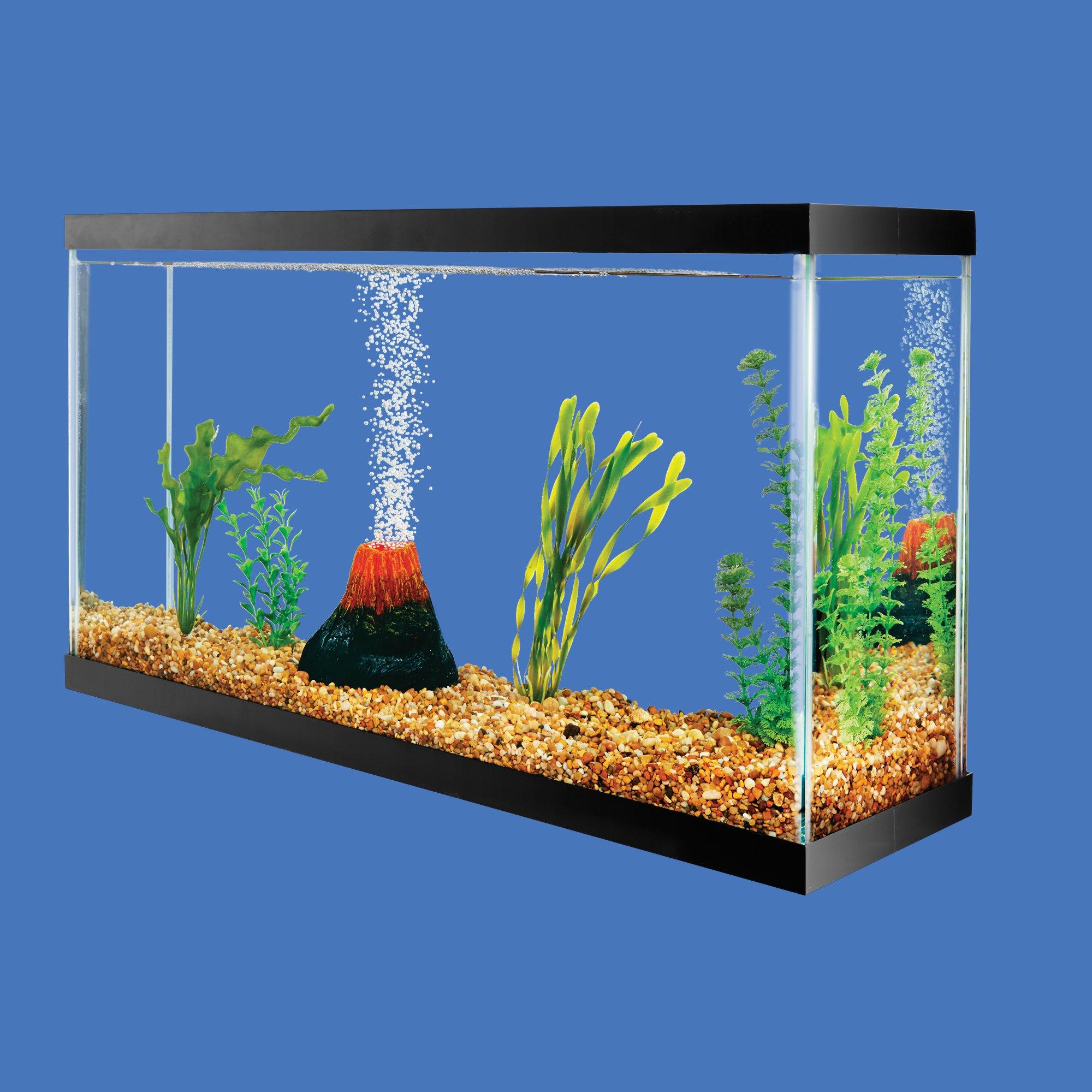 Imagitarium volcano led ornament petco for Petco fish tank decor