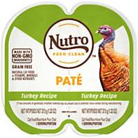 Nutro Perfect Portions Turkey Adult Cat Food Trays