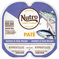 Nutro Perfect Portions Salmon & Tuna Grain Free Adult Cat Food Trays