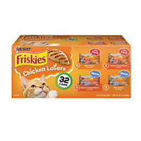 Friskies Chicken Lovers Variety Pack Canned Cat Food