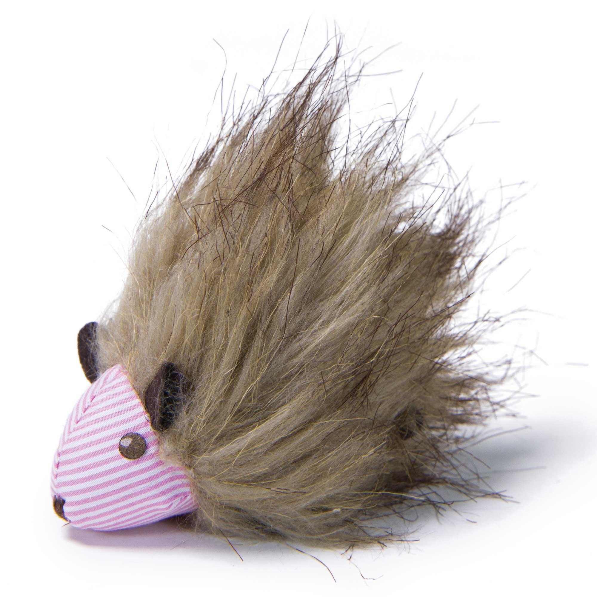 Petlinks System Plush Player Hedgehog Refillable Catnip Cat Toy