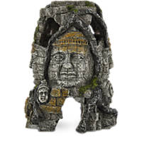 Imagitarium Resin Ruins with Faces Aquatic Decor