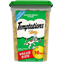 Whiskas Temptations Seafood Medley Cat Treats