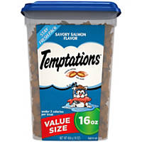 Whiskas Temptations Savory Salmon Cat Treats