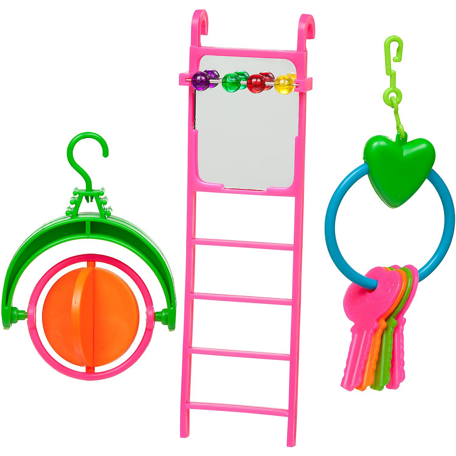 You & Me Ladder with Toys Bird Toy Value Pack