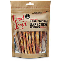 Good Lovin' Hand Twisted Chicken Jerky Dog Sticks