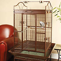 You & Me Standing Parrot Cage