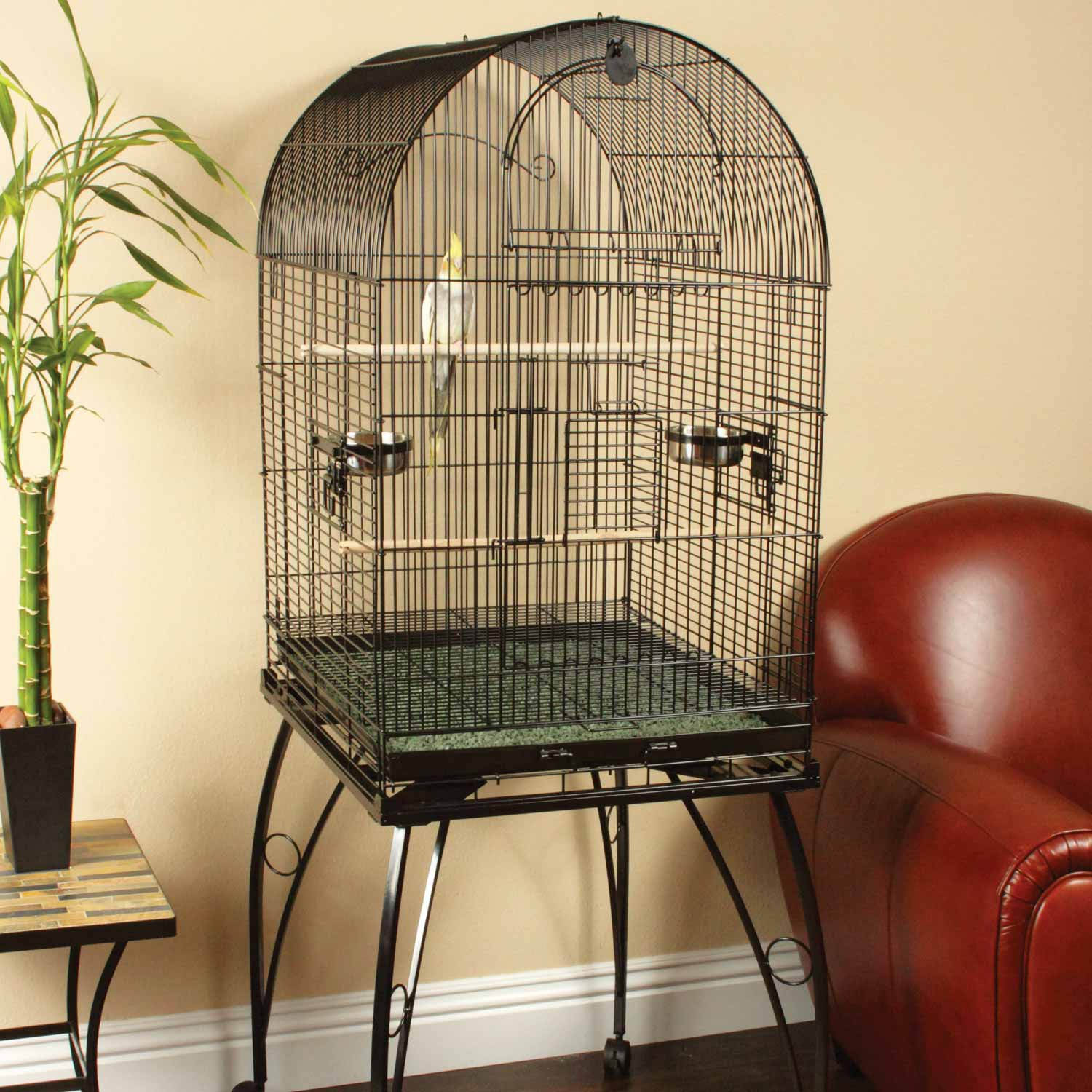 You & Me Cockatiel Large Standing Cage