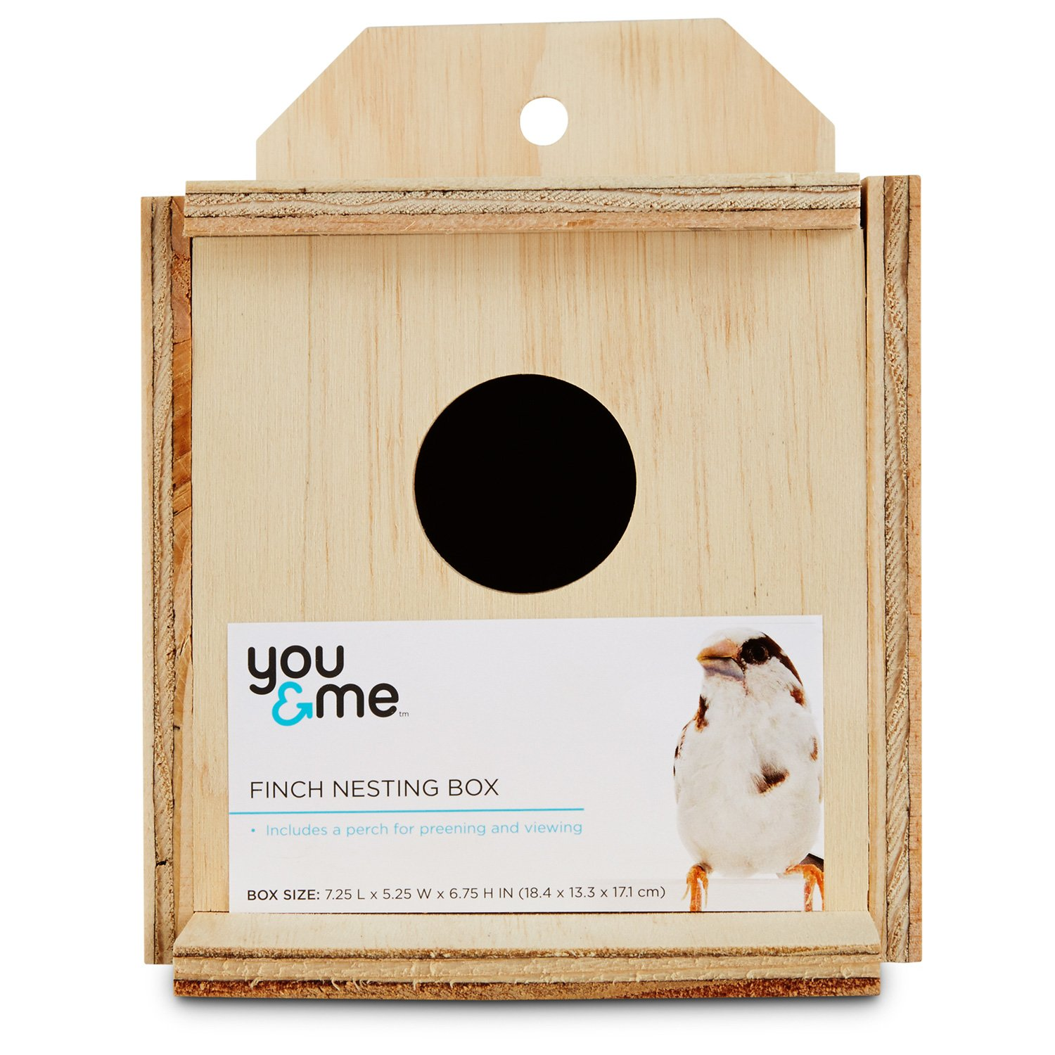 You & Me Finch Nest Box