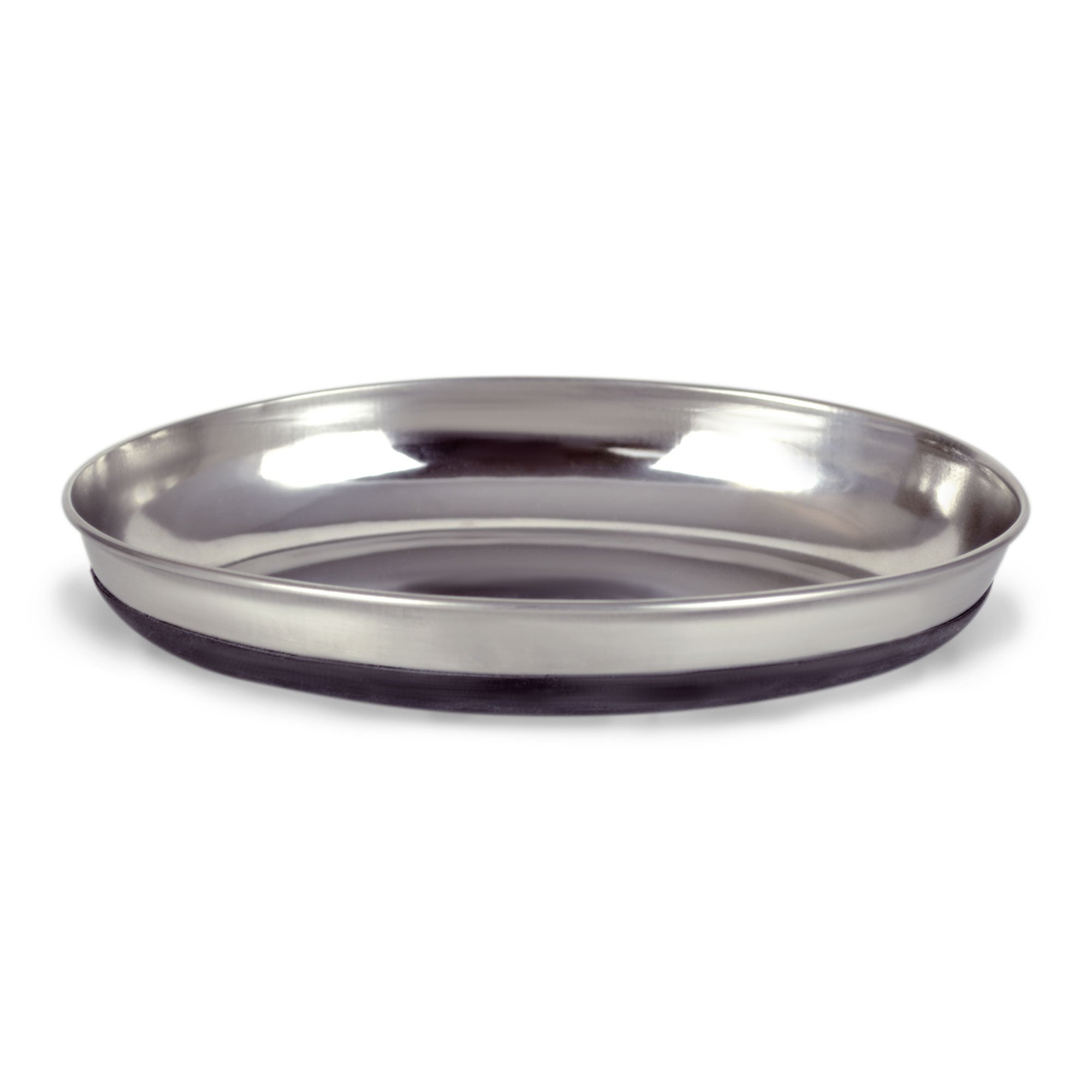 Our Pet's Oval Stainless Steel Cat Bowl