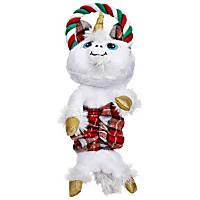 Petco Holiday Bungee Unicorn Dog Toy