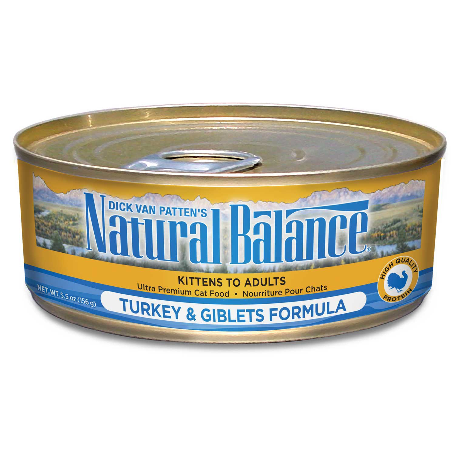 Natural Balance Ultra Premium Canned Cat Food Turkey & Giblets Formula