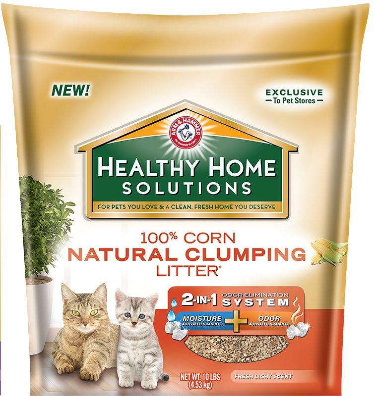 Arm & Hammer Healthy Home Solutions Corn Cat Litter