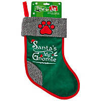Petco Holiday Gnome Dog Stocking