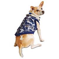 Wag-a-tude Navy Camo Dog Bomber Jacket