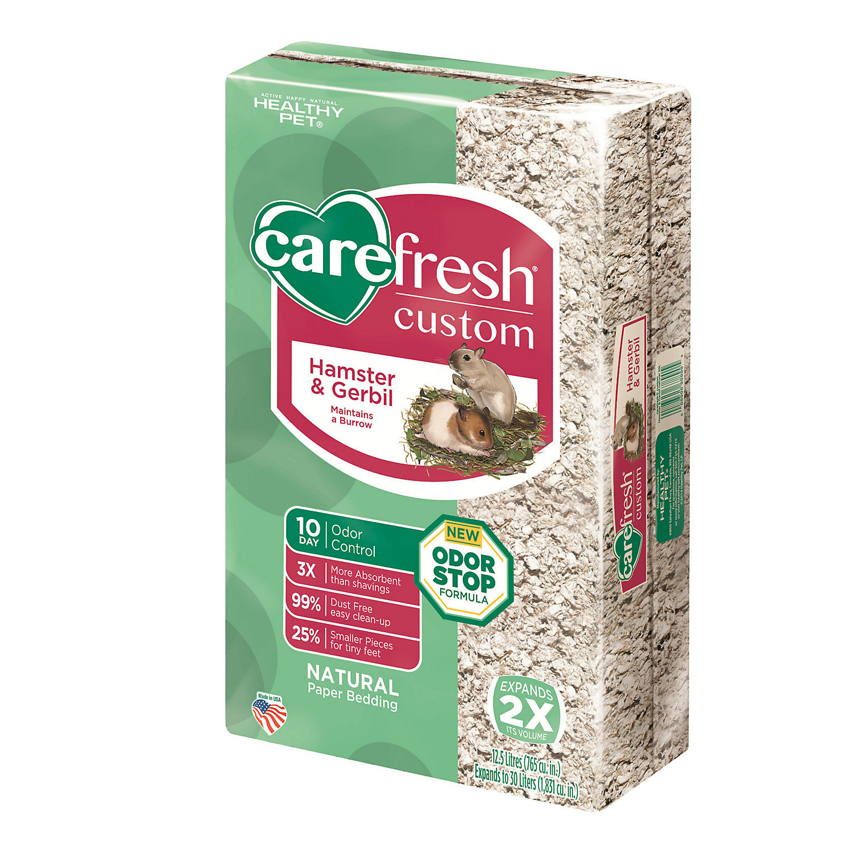 Carefresh Custom Hamster Gerbil Natural Bedding 30 Liters