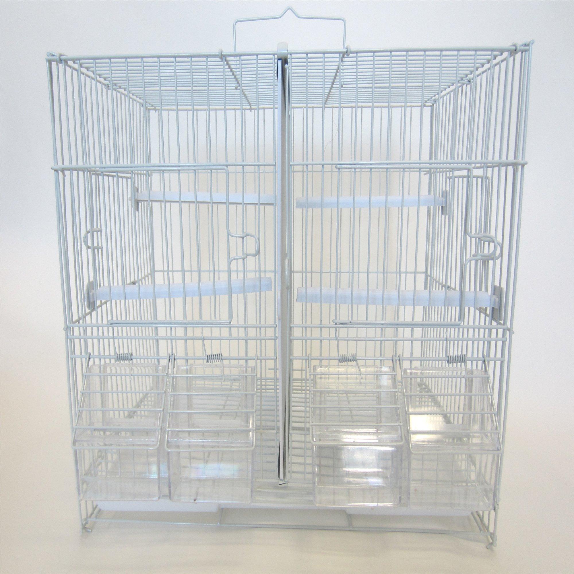YML Small White Breeding Bird Cage