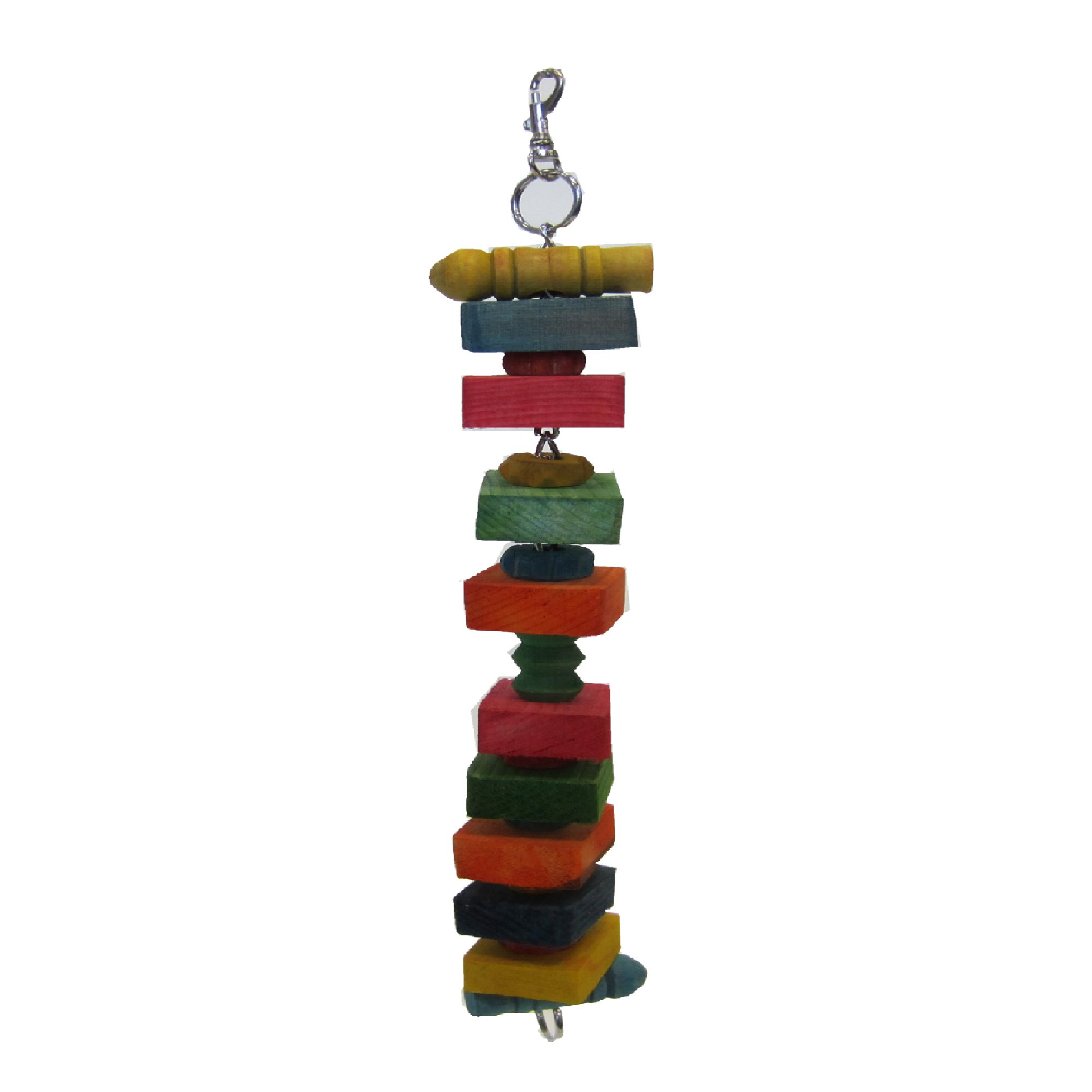 YML Square Wooden Bird Toy