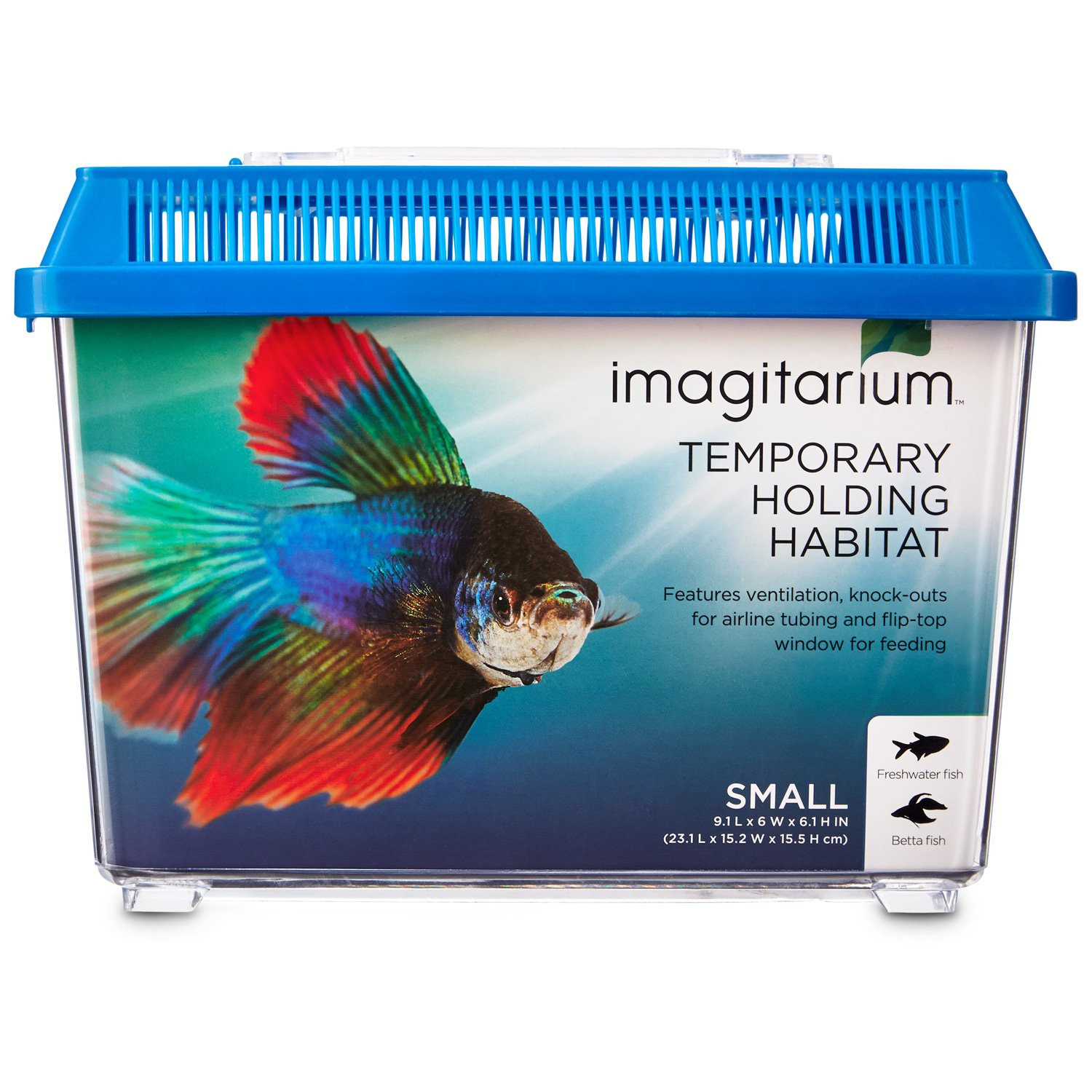 Imagitarium pet keeper for aquarium fish small petco store for Types of betta fish petco
