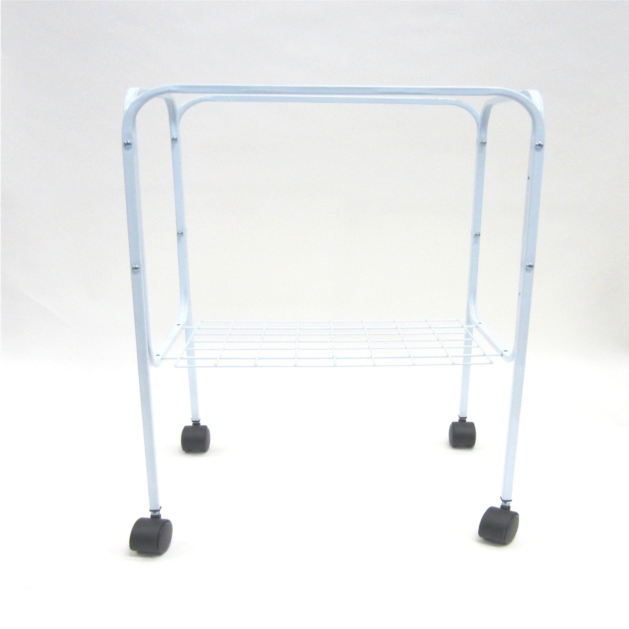 YML White Bird Cage Stand