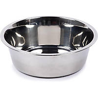 Harmony Non-Skid Brushed Stainless Steel Dog Bowl