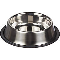 Harmony Brushed Stainless Steel No-Tip Cat Bowl