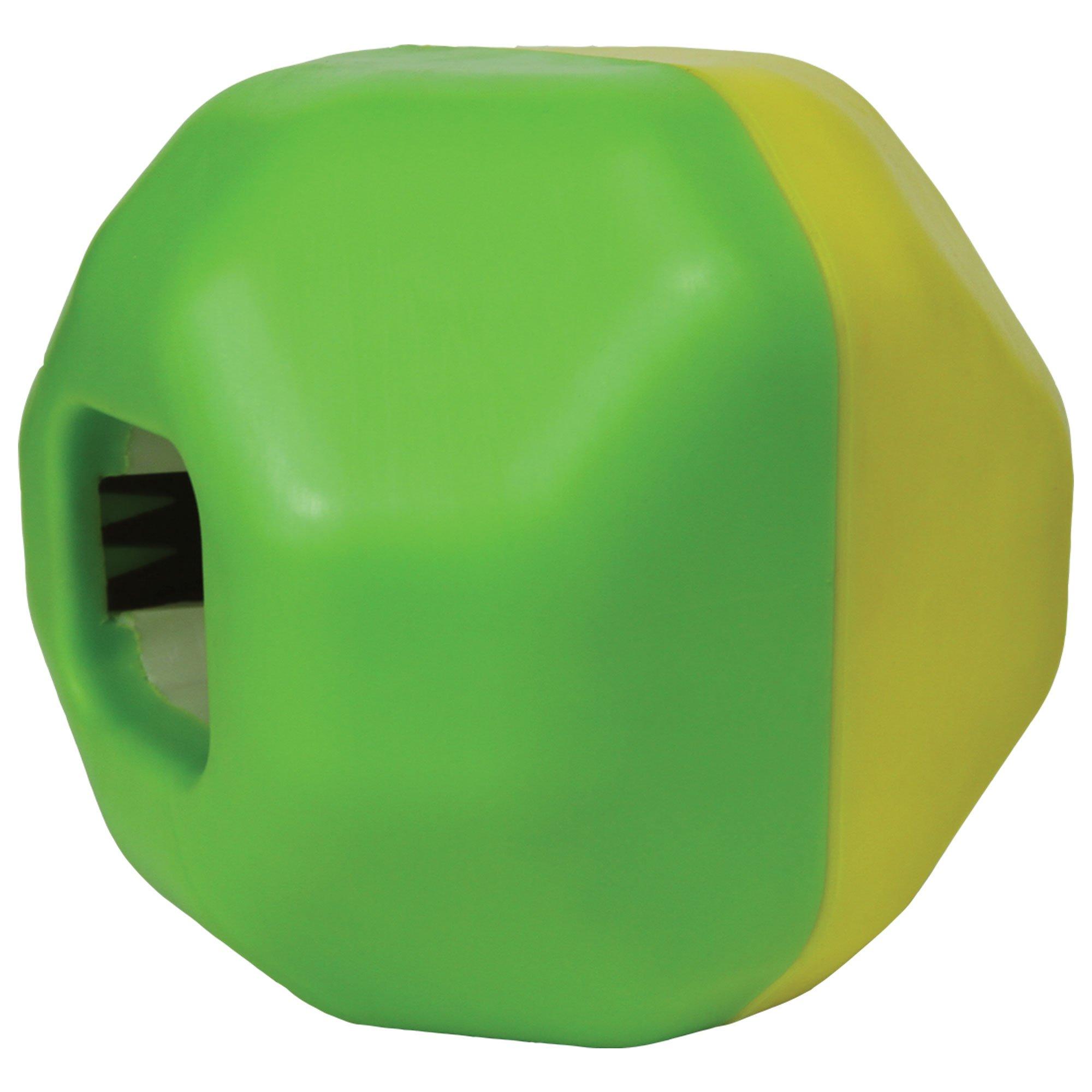 Star Mark Bumper Body Puzzle Ball Dog Treat Dispenser
