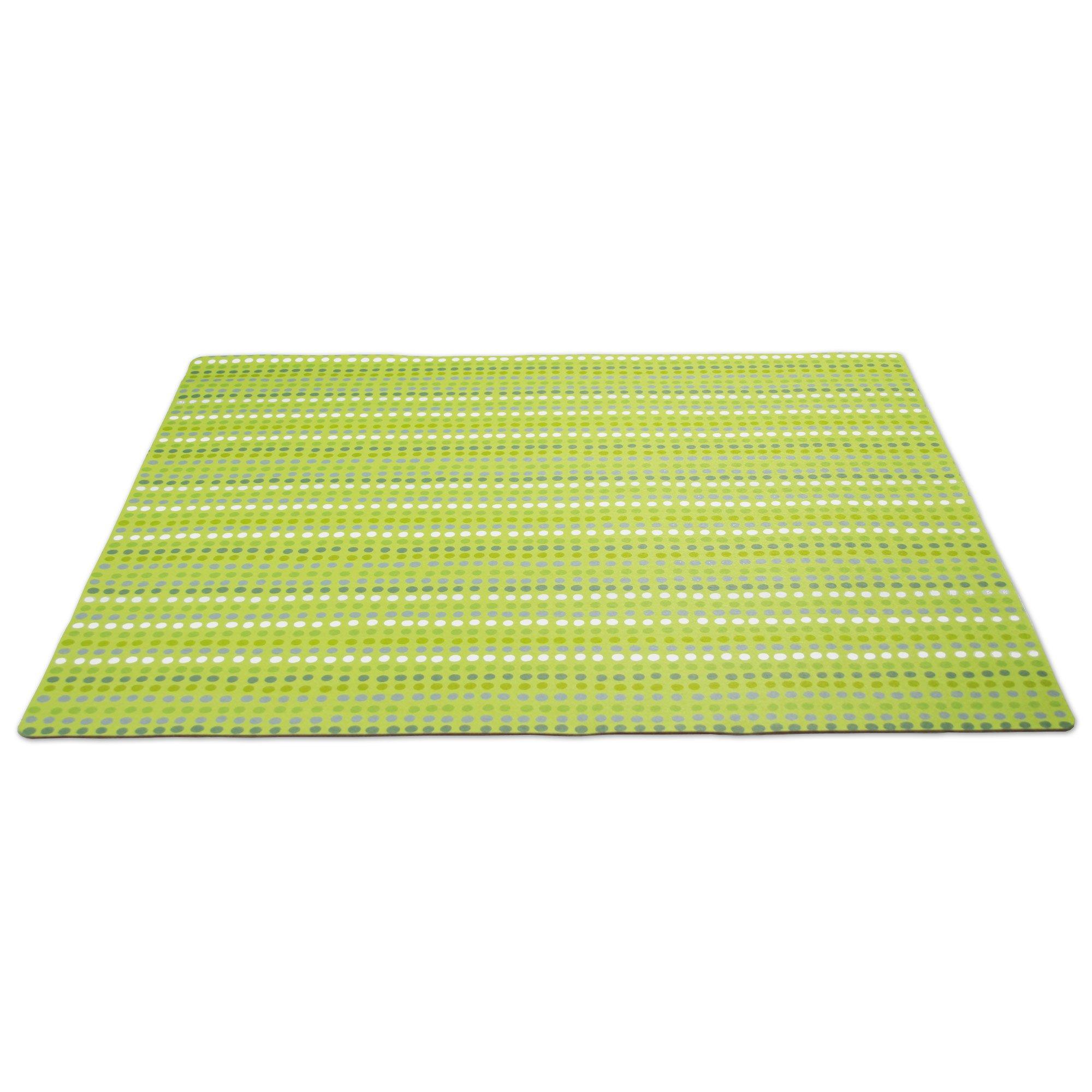 Drymate Green Dot Cat Litter Mat
