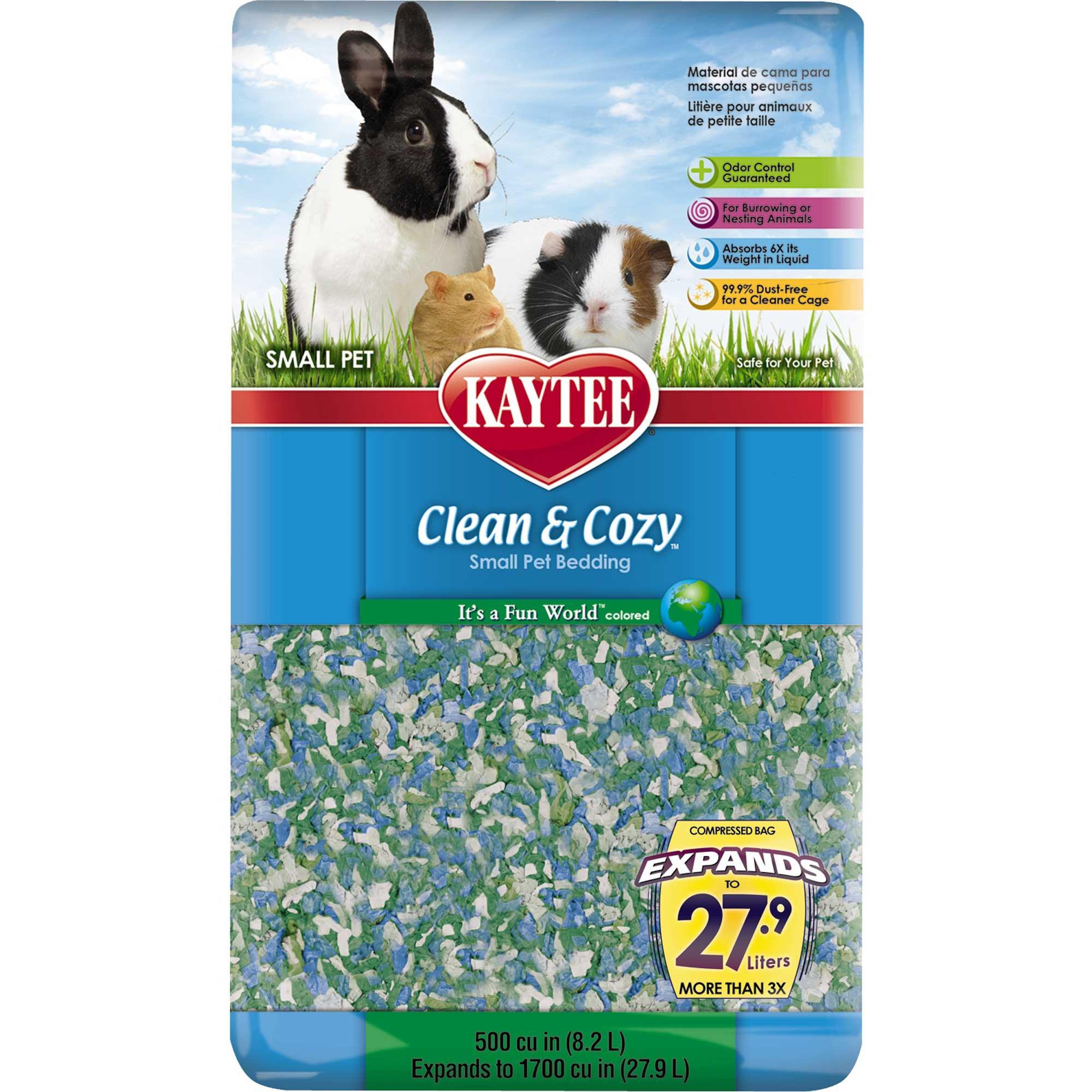 Kaytee Clean & Cozy It's A Fun World Small Animal Bedding