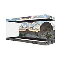 Habitat Wraps Desert Canyon Cloud Reusable Glass Tank Background