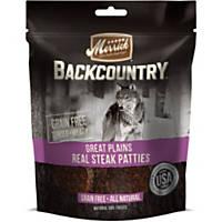 Merrick Backcountry Grain Free Steak Patties Dog Treats