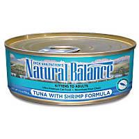 Natural Balance Ultra Premium Tuna with Shrimp Canned Cat Food