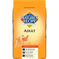 Nature's Recipe Chicken Meal & Rice Adult Dog Food