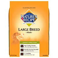 Nature's Recipe Large Breed Chicken & Oatmeal Adult Dog Food