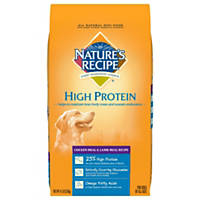 Nature's Recipe High Protein Chicken Meal & Lamb Meal All Lifestage Dog Food