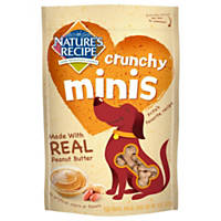 Nature's Recipe Crunchy Minis Peanut Butter Dog Treats
