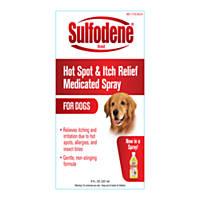 Sulfodene Hot Spot & Itch Relief Dog Spray
