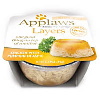 Applaws Chicken with Pumpkin Layers Grain Free Cat Food