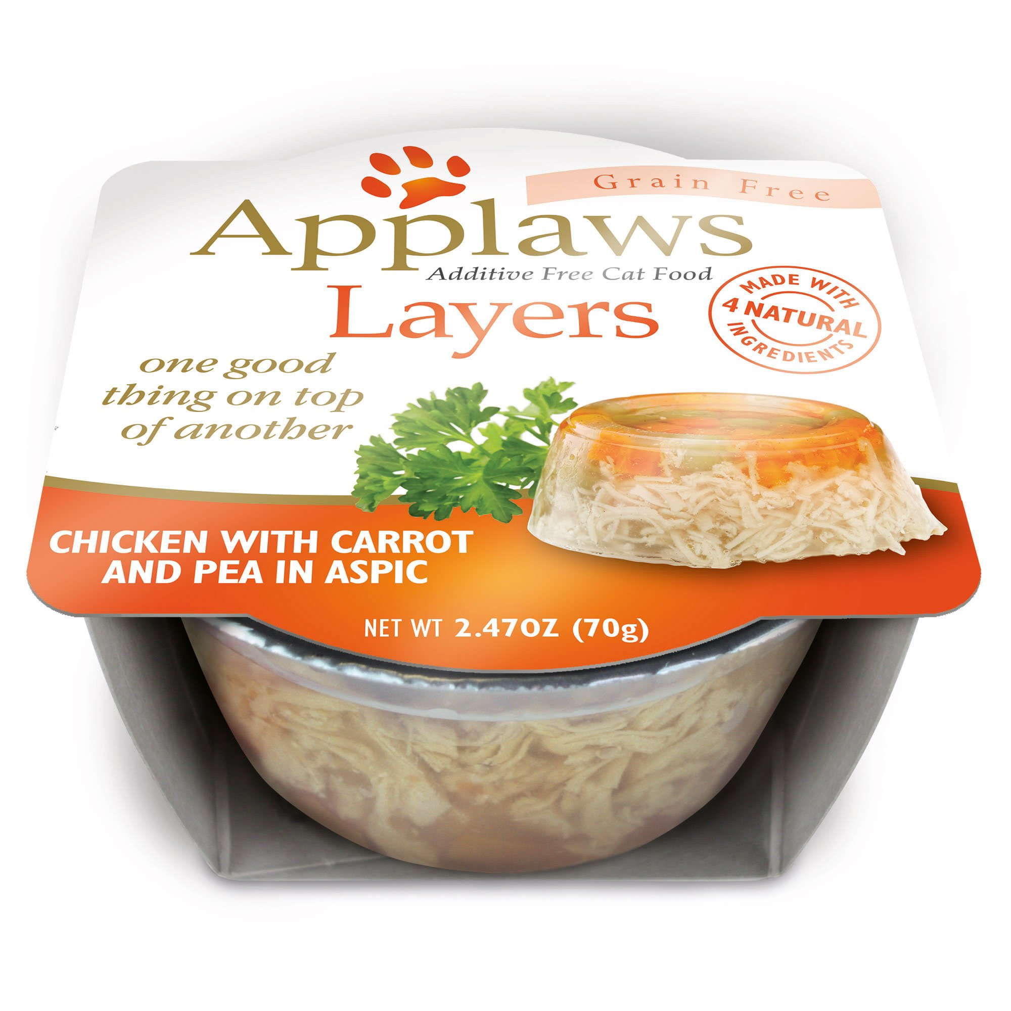 Applaws Chicken with Carrot and Peas Layers Grain Free Cat Food