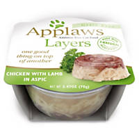 Applaws Chicken with Lamb Layers Grain Free Cat Food