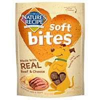Nature's Recipe Soft Bites Beef & Cheese Dog Treats
