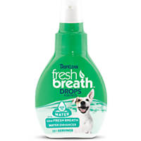 TropiClean Fresh Breath Pet Water Enhancer Drops