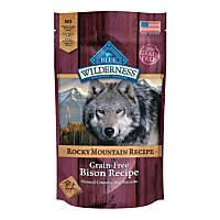 Blue Buffalo Wilderness Rocky Mountain Recipe Grain-Free Bison Dog Biscuits