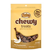 Nutro Chewy Dog Treats with Real Bananas