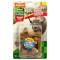 Nylabone Healthy Edibles Bison Flavored Dog Bone Chews