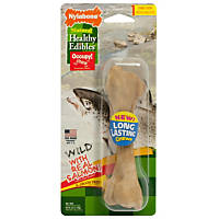 Nylabone Healthy Edibles Salmon Flavored Dog Bone Chews