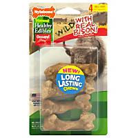Nylabone Healthy Edibles Bison Flavored Dog Bone Chews