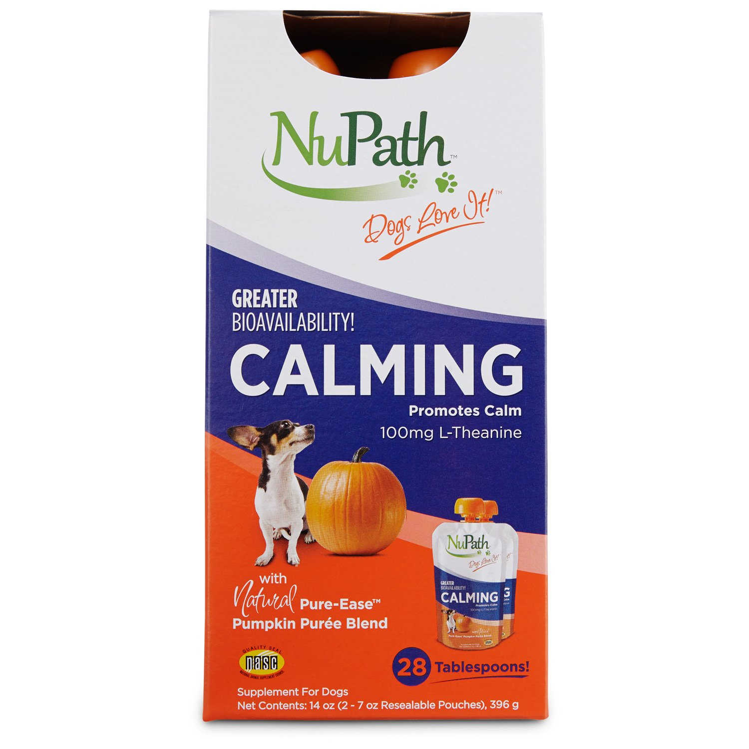 NuPath Calming Pumpkin Puree Dog Supplement