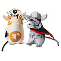 Star Wars BB-8 & Captain Phasma Mice 2-Pack Cat Toy